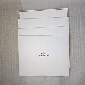 COACH COACH Folding White Gift Box, set of 4